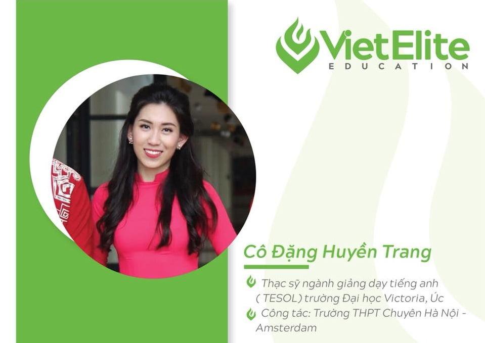 Cô Đặng Huyền Trang