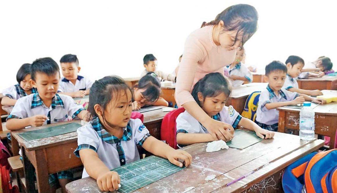 6424_Trường Tiểu học Tân Bửu huyện Bến Lức đạt chuẩn quốc gia mức độ 1 chất lượng quản lý dạy và học không ngừng được nâng lên